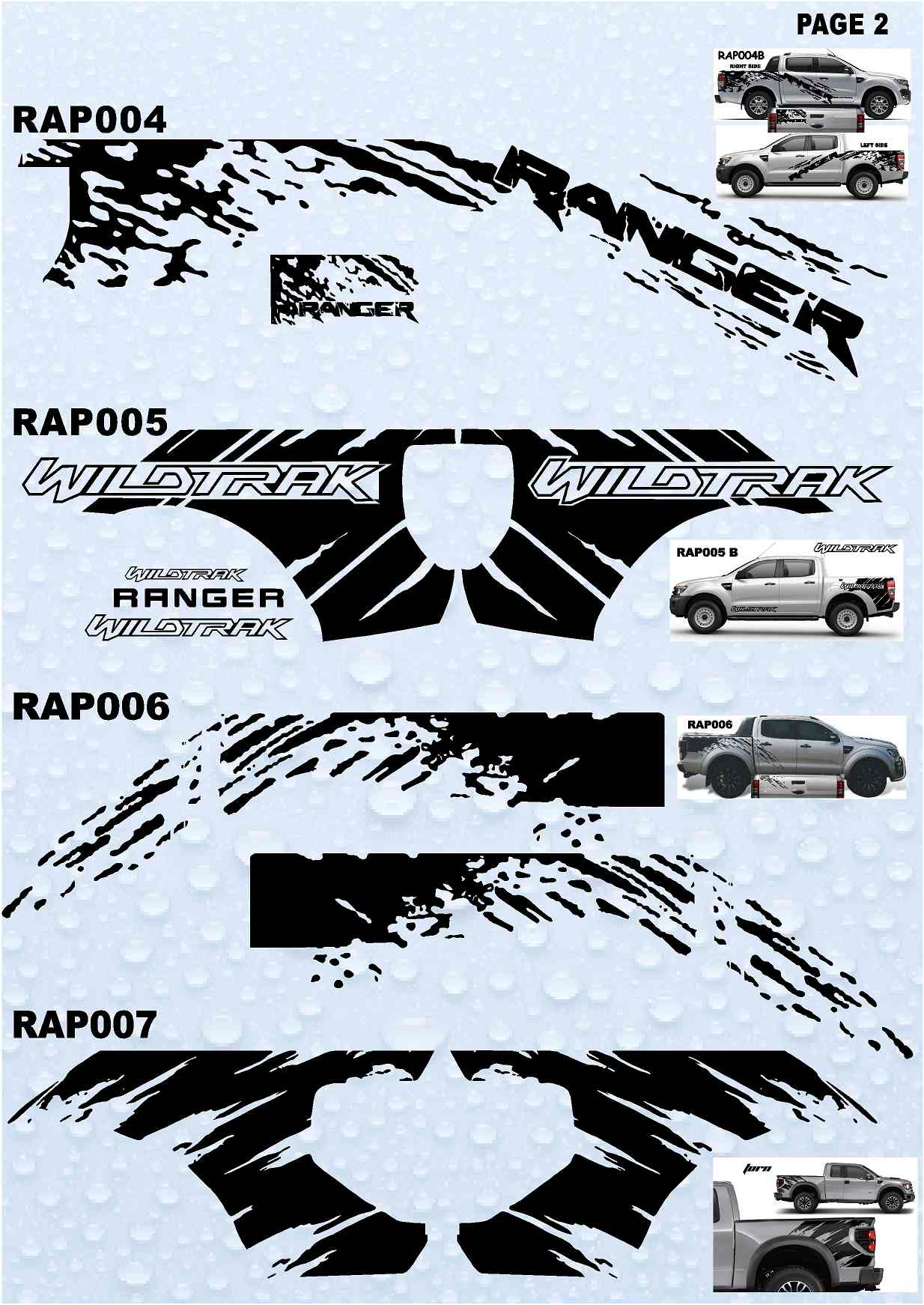 Ford Raptor Logo Vector >> Raptor /ranger stickers : 4 x 4 Stickers Collection 2