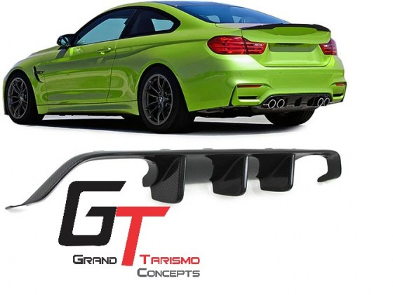 BMW F80 M3 F82 M4 M-Performance Carbon Fiber Diffuser.pd4