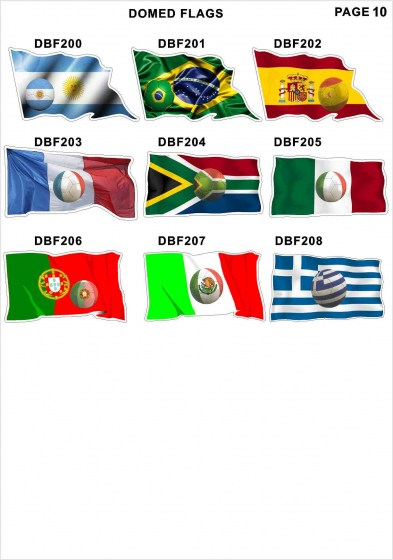 Domed Flags11