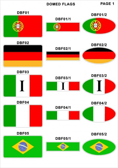 Domed Flags1