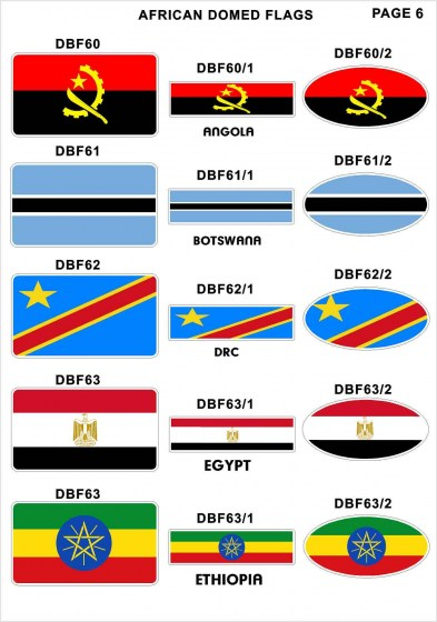 Domed Flags7