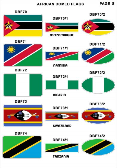 Domed Flags9