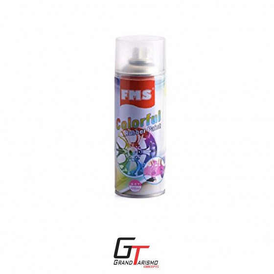 FMS Rubber Spray Matte Black 450ml R149