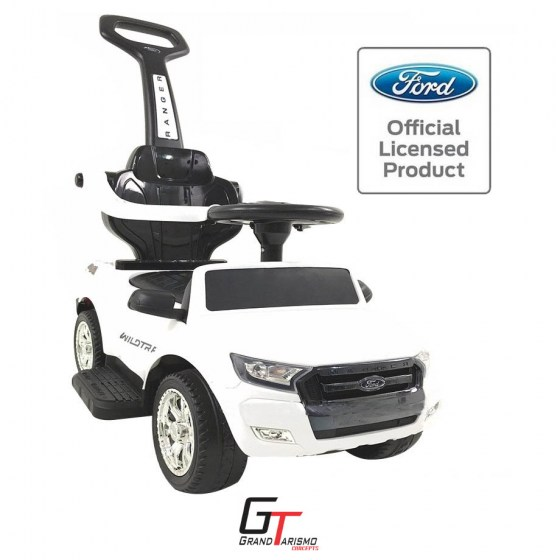 Kiddies T7 Wildtrak White Push Along R1299