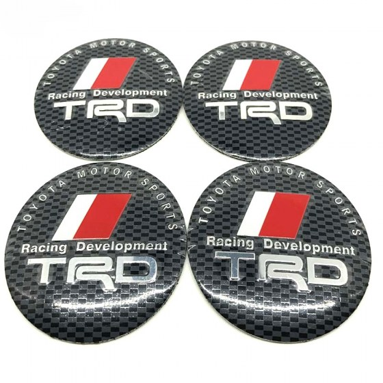 TRD Carbon Wheel Decal R79
