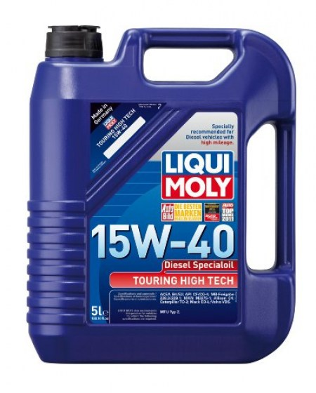 Liqui Moly 15W-40 Diesel Special Oil Touring High Tech 5lt8